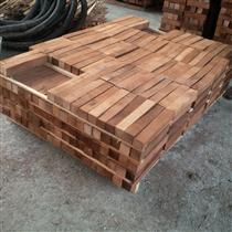 2018年3月供应欧洲黑胡桃木材短料有进行蒸煮烘干工艺